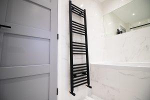 Black Towel Radiator