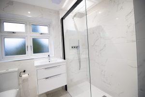 Complete Marble Bathroom