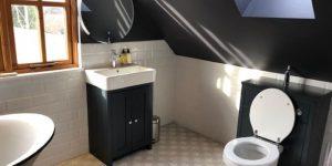 Black Bathroom By Ahmco